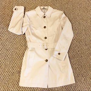 Brooks Brothers khaki trench coat